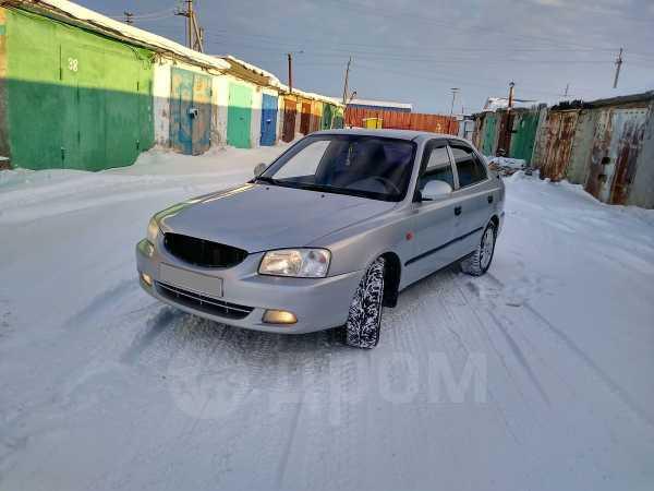 Hyundai Accent, 2004 год, 159 999 руб.