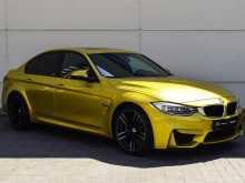 BMW M3, 2016 г., Краснодар