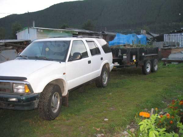Chevrolet Blazer, 1995 год, 275 000 руб.