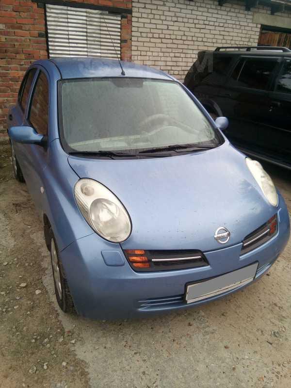 Nissan Micra, 2004 год, 215 000 руб.