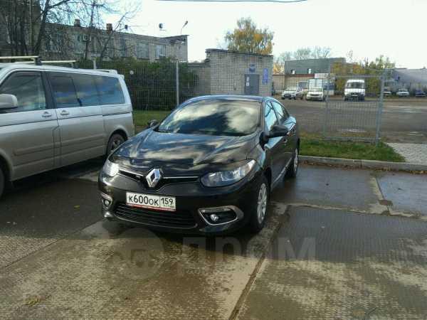 Renault Fluence, 2014 год, 600 000 руб.