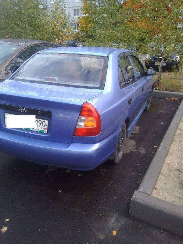 Hyundai Accent, 2006 год, 180 000 руб.