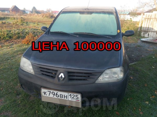 Renault Logan, 2008 год, 100 000 руб.