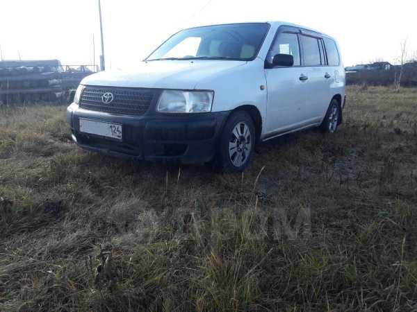 Toyota Succeed, 2002 год, 135 000 руб.