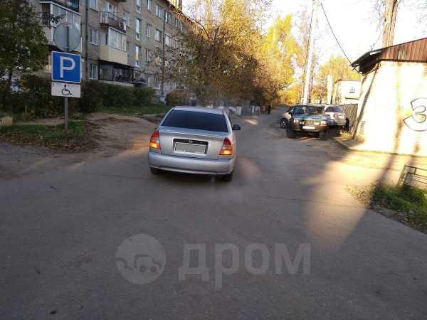 Hyundai Accent, 2002 год, 160 000 руб.