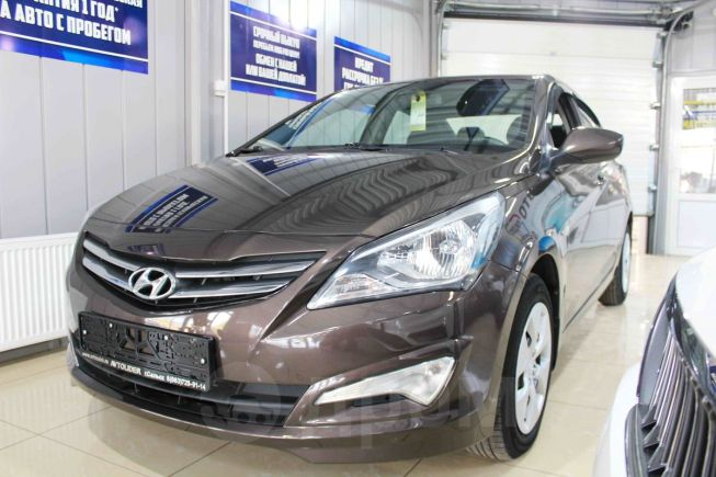 Hyundai Solaris, 2015 год, 599 900 руб.