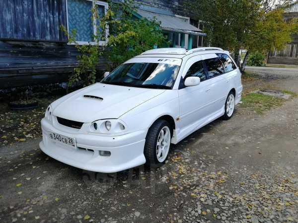 Toyota Caldina, 1998 год, 380 000 руб.