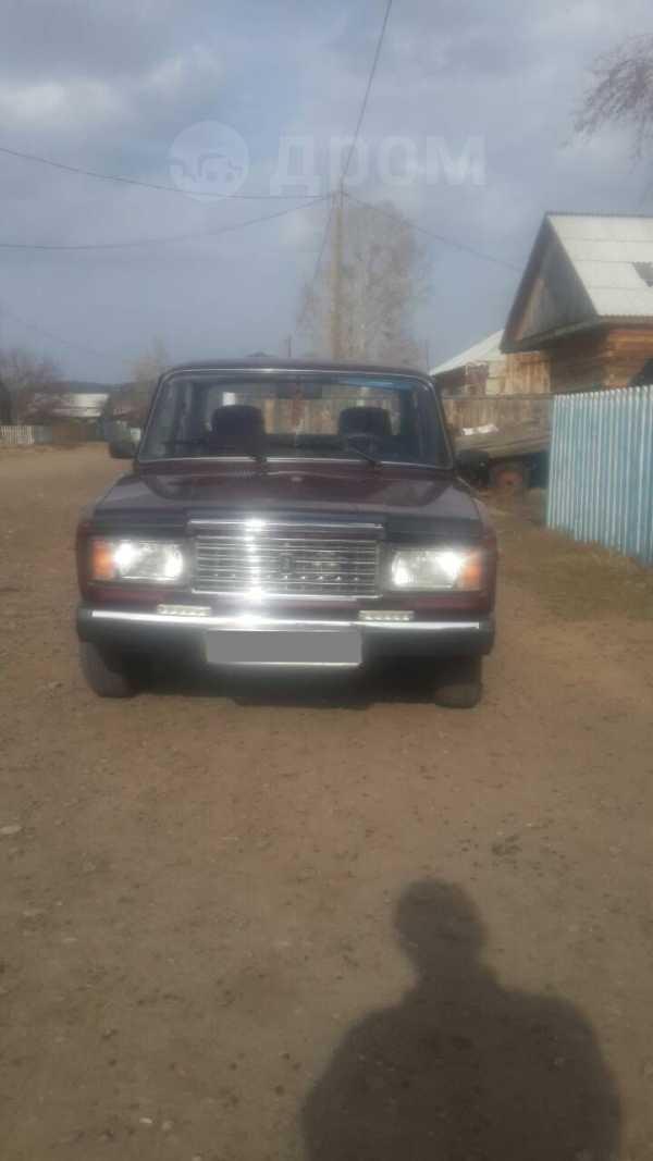 Лада 2107, 2012 год, 160 000 руб.