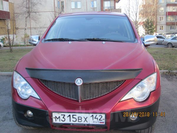 SsangYong Actyon Sports, 2010 год, 370 000 руб.