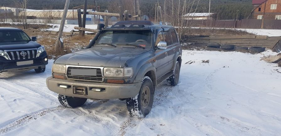 Toyota Land Cruiser, 1997 год, 750 000 руб.