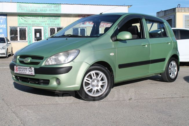 Hyundai Getz, 2008 год, 385 000 руб.