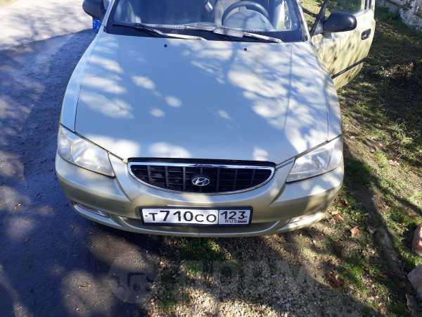Hyundai Accent, 2001 год, 120 000 руб.