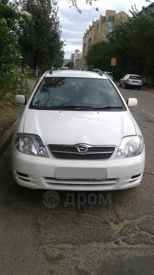 Toyota Corolla Fielder, 2003 год, 375 000 руб.