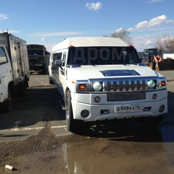 Hummer H2, 2004 год, 650 000 руб.