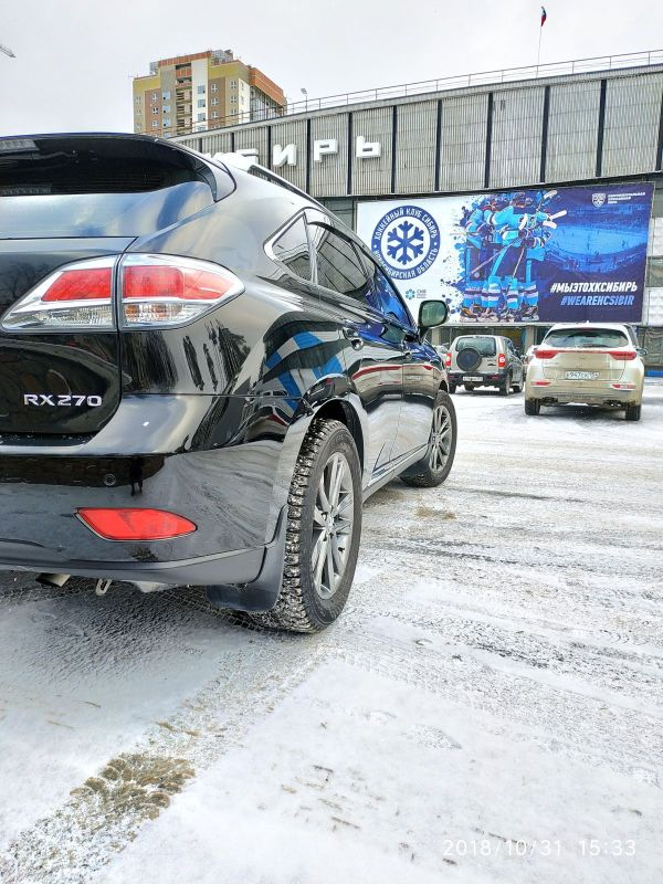 Lexus RX270, 2012 год, 1 500 000 руб.