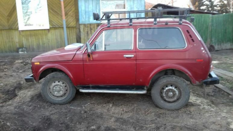 Лада 4x4 2121 Нива, 1990 год, 115 000 руб.