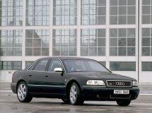 Audi S8 рестайлинг 1999, седан, 1 поколение, D2