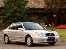 Hyundai Sonata рестайлинг, 4 поколение, 02.2001 - 08.2004, Седан