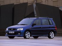 Mazda Demio рестайлинг, 1 поколение, 12.1999 - 07.2002, Хэтчбек 5 дв.