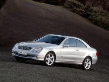 Mercedes-Benz CLK-Class 2002, купе, 2 поколение, C209