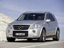 Mercedes-Benz M-Class рестайлинг, 2 поколение, 04.2008 - 06.2011, Джип/SUV 5 дв.