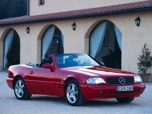 Mercedes-Benz SL-Class 2-й рестайлинг 1998, открытый кузов, 4 поколение, R129