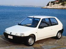 Peugeot 106 1991, хэтчбек 3 дв., 1 поколение
