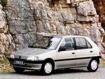 Peugeot 106 1991, хэтчбек 5 дв., 1 поколение