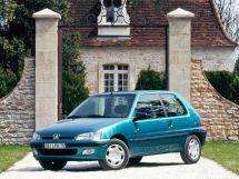 Peugeot 106 рестайлинг 1996, хэтчбек 3 дв., 1 поколение