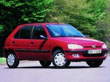Peugeot 106 рестайлинг 1996, хэтчбек 5 дв., 1 поколение