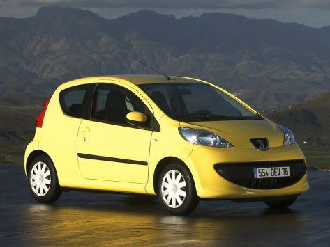 Peugeot 107  06.2005 - 01.2009