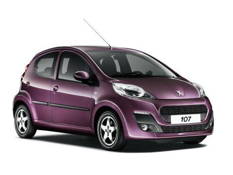 Peugeot 107  03.2012 - 09.2015
