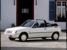 Peugeot 205 1986, открытый кузов, 1 поколение