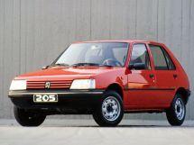 Peugeot 205 рестайлинг 1990, хэтчбек 5 дв., 1 поколение