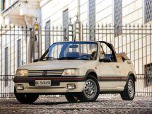 Peugeot 205 рестайлинг 1990, открытый кузов, 1 поколение