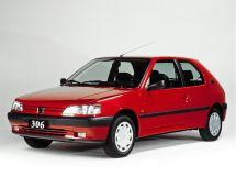 Peugeot 306 1993, хэтчбек 3 дв., 1 поколение