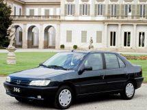 Peugeot 306 1994, седан, 1 поколение