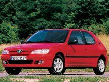 Peugeot 306 рестайлинг 1997, хэтчбек 3 дв., 1 поколение
