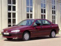 Peugeot 406 1995, седан, 1 поколение