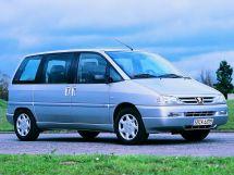 Peugeot 806 рестайлинг 1998, минивэн, 1 поколение