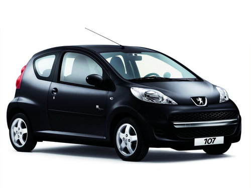 Peugeot 107 2009 - 2012