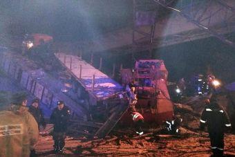 Мост находился в аварийном состоянии и был выведен из эксплуатации.