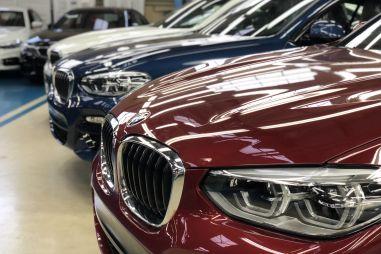 В Калининграде приступили к сборке нового BMW X4