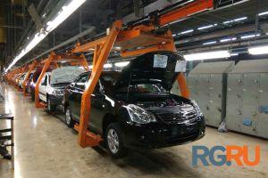 Появилось фото последней Nissan Almera российской сборки