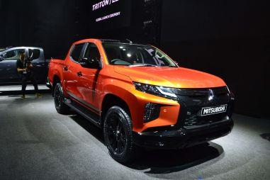 Обновленный Mitsubishi L200: фото и видео от Дрома