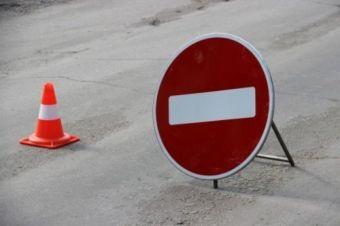 Объехать можно будет по улице Комсомольской, на которой введут двустороннее движение.
