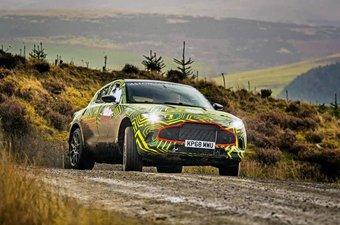 С первым в своей истории кроссовером Aston Martin связывает большие надежды.