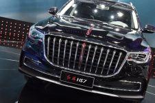 Серийное производство HongQi HS7 должно стартовать в 2019 году.