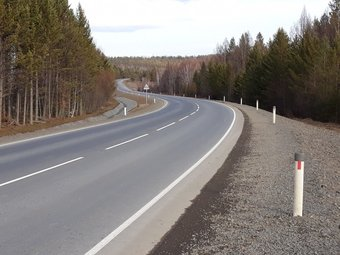 Работы провели на отрезке с 46-го по 70-й километр. Они обошлись почти в 1,4 млрд рублей.