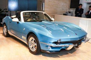 В Японии представили Mazda MX-5 с дизайном под классический Chevrolet Corvette